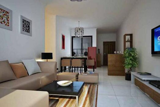 70平米两室一厅装修预算表高清图片