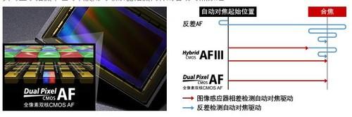 佳能的黑科技全像素双核CMOS AF技术也搭载到EOS 80D上,且保持横/纵80%的面积覆盖
