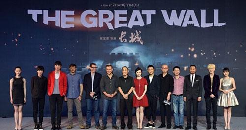 张艺谋《长城》北美改档2017年 内地档期未公布