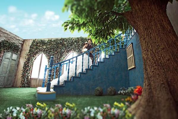 郑州最美的婚纱照基地—拉菲庄园