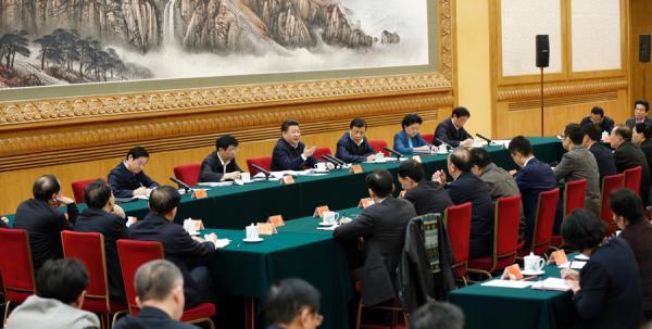 2月19日,中共中央总书记、国家主席、中央军委主席习近平在北京主持召开党的新闻舆论工作座谈会并发表重要讲话。 新华网 图