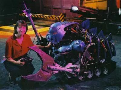 主场机器人之首:骑士