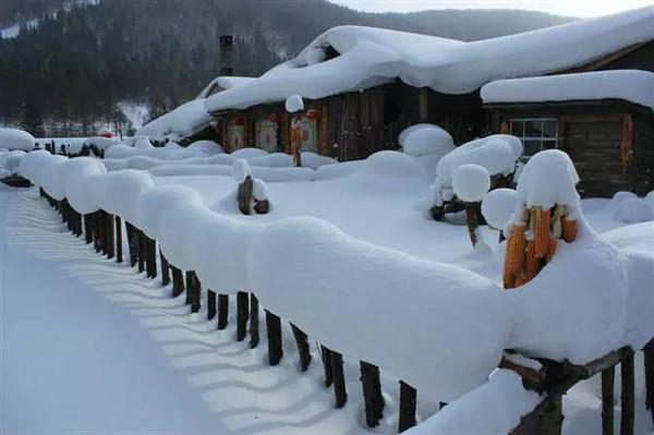 雪乡的冬天,雪乡v攻略攻略,黑龙江雪乡摄影作品dnf妮每日攻略安图图片