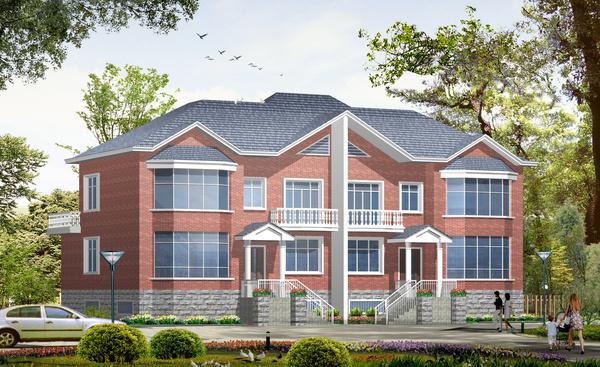 多套农村别墅设计图 新农村自建房别墅设计图片