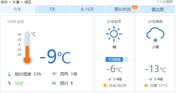 长春:又降温了!别着急脱秋裤!月底气温将回升!