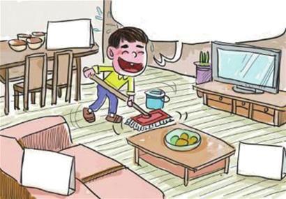 小孩做家务与否居然影响这么大!