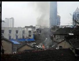 江苏镇江第四人民医院附近突发爆炸 消防已出警