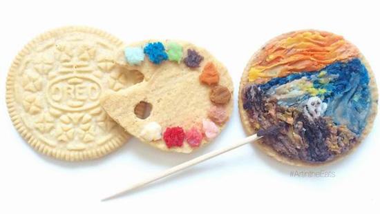 饼干上的世界名画