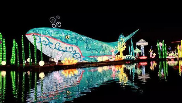 欢乐谷灯会