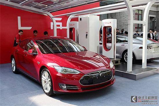 特斯拉Model S将实现无线充电