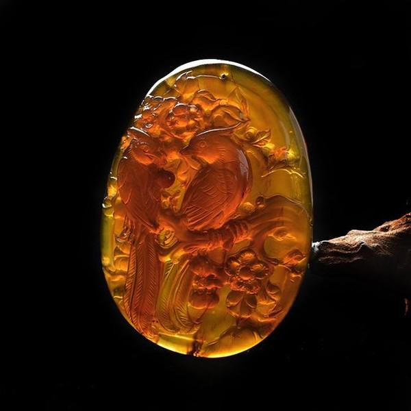 琥珀蜜蜡的雕刻物件为什么很少??