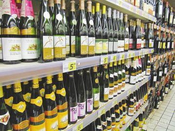 进口葡萄酒量增价跌