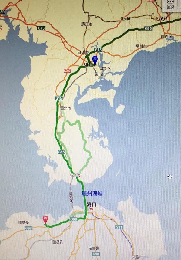 一大早,我们从湛江出发去徐闻县海安港码头,140多公里,不算远;从这里