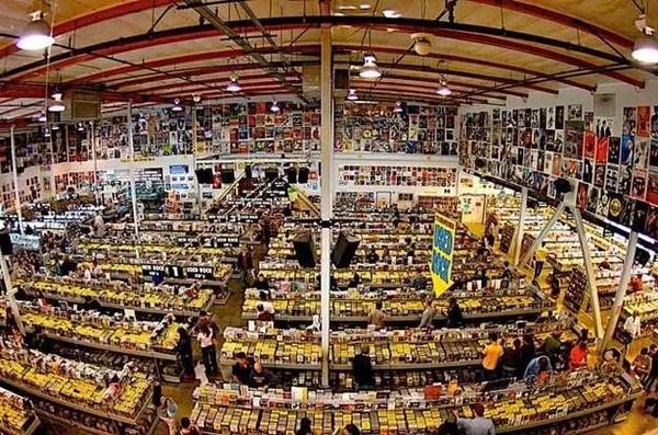世界各地必去的唱片行