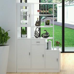 在歐式風格的鞋柜設計上,就要注意玄關處背景墻與歐式鞋柜的相融合圖片