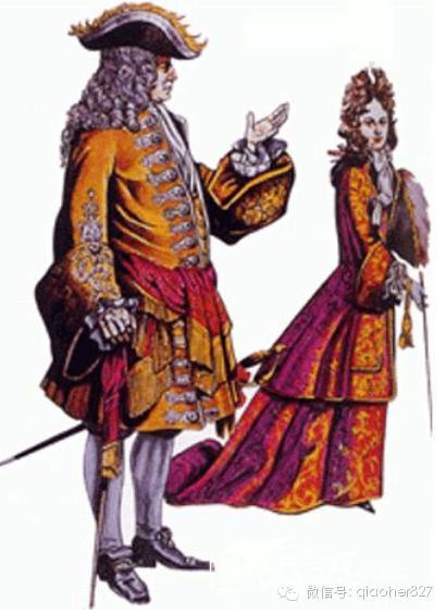 巴洛克时期的服装 男装篇(下)