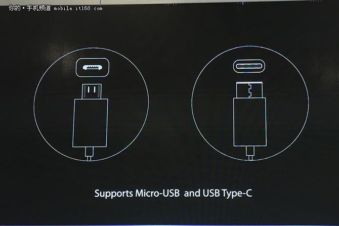 支持microUSB接口或type-C接口