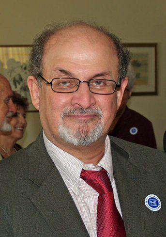印度裔英国作家萨曼拉什迪(Salman Rushdie)。 本文图像均来自收集
