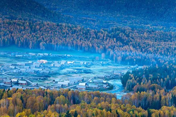 新疆阿勒泰地区布尔津县喀纳斯乡禾木村.沙巴加雅岛住宿攻略图片