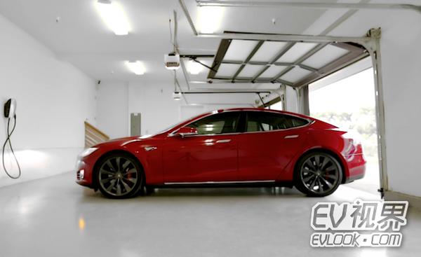 特斯拉Model S无线充电器将在4月面市