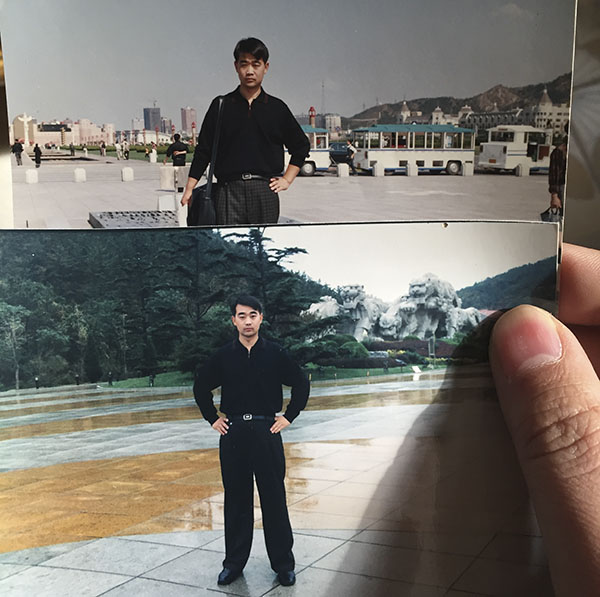 王杰留在家里的相片在李梅(假名)的回忆里,2015年7月份以后,丈夫王杰就开端变得有些不失常。