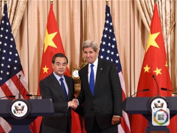 中国外交部长王毅23日在华盛顿与美国国务卿克里举行会谈,这是王毅和克里在过去一个月内第三次会面。