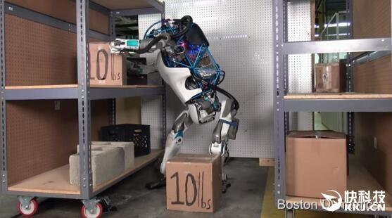 美国最新一代机器人:完美到令人恐惧