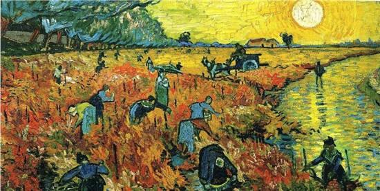 《红色的葡萄园》是梵高在世时卖出的唯一作品