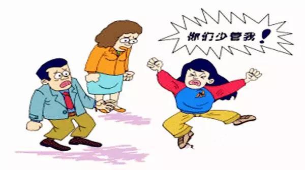陪伴父母 卡通图片