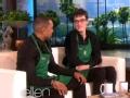 《艾伦秀第13季片花》S13E108 自闭症咖啡师大哭 多伦多猛龙队问候