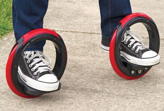 三太子的风火轮、Orbitwheels轮式滑板