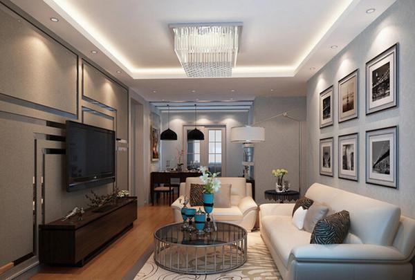 首开香溪郡-三居室-105.00平米-客厅装修效果图