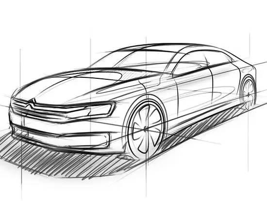信息点:1.手绘图发布 2.预计北京车展首发 3.