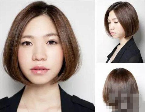 杏仁形脸就是细长的锥圆脸,这种脸型不适合太短的发型.▼图片