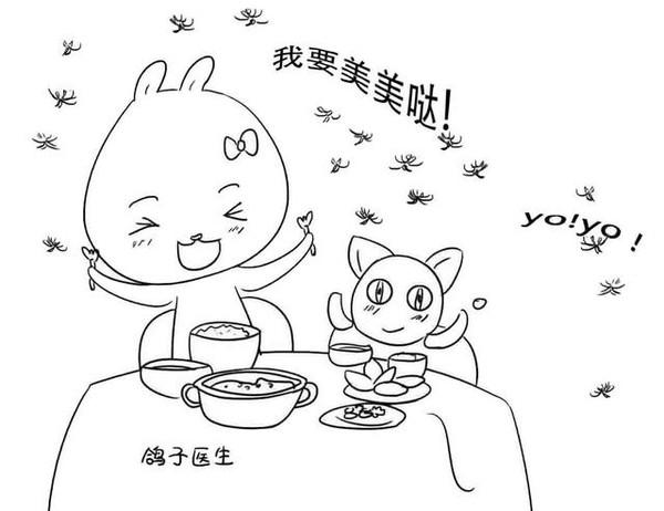药店春天pop手绘海报