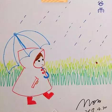 【微教育】80后爸妈手绘24节气图,陪孩子一起感知四季