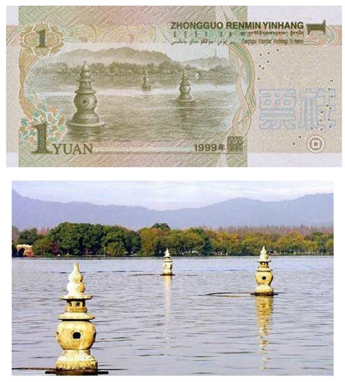 人民币上的风景 玩遍中国新线路