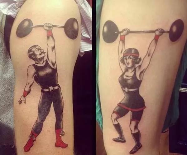 体育 正文  纹身不会对健身本身造成影响,不过健身会流汗,而汗渍可能