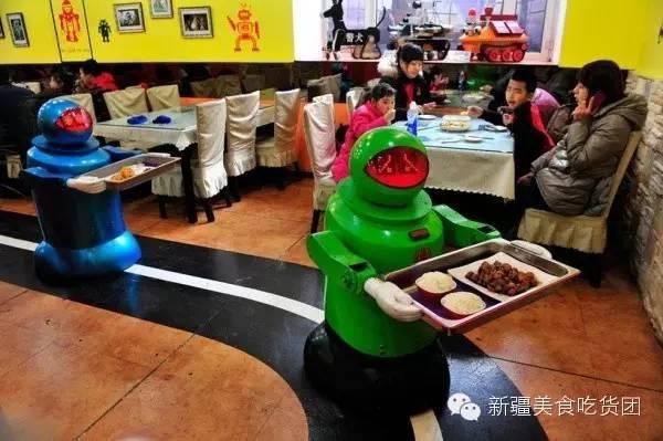 看我新疆I乌市餐饮行业面临 用工荒 不怕 机器人来
