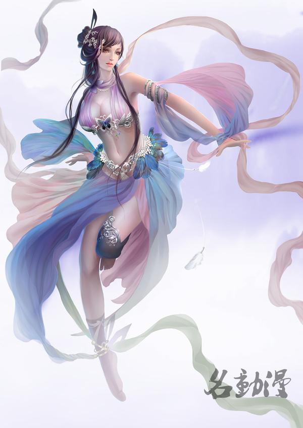游戏人物设计女神季中国风