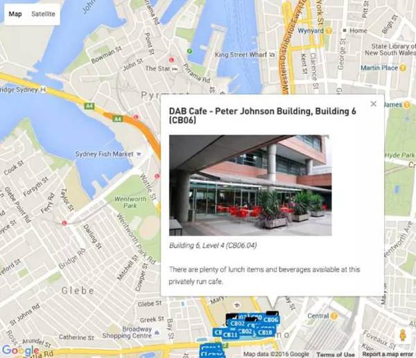,跟着悉尼科技大学美食地图吃遍校院