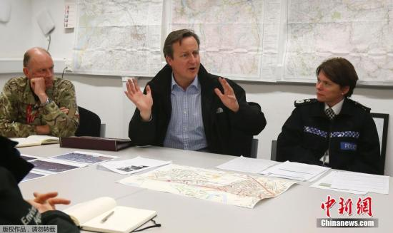 当地时间1月31日,英国首相卡梅伦在伦敦唐宁街10号会见欧洲理事会主席图斯克,双方进一步商讨欧盟改革方案。 中新社记者 Georgina Coupe 摄