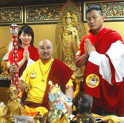 白玛奥色与胡军佳耦 国家西藏网 图