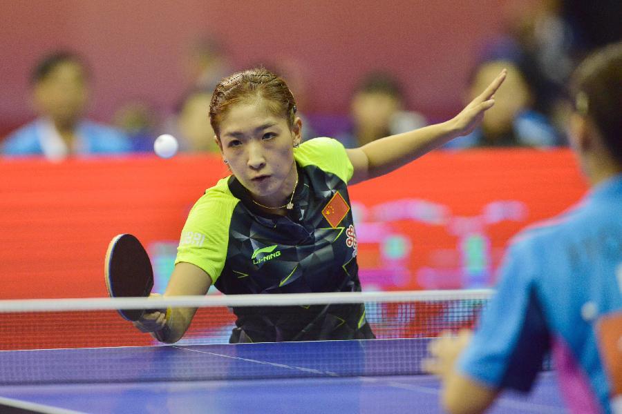 历届中国国家队名单_(体育)(2)乒乓球——2016年世锦赛团体赛:中国女队胜 ...