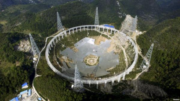 贵州的FAST将于9月完工