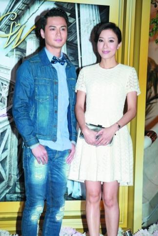 罗仲谦与杨怡去年底结伴出席钱国伟婚礼