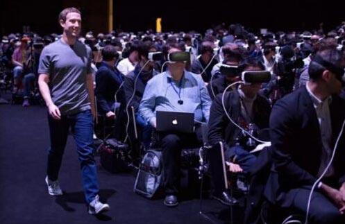 扎克伯格谈VR照片:虚拟现实不会让人们孤立