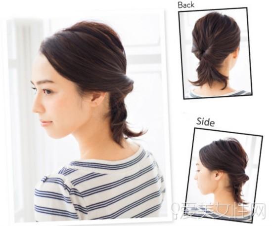 女生短发怎么扎好看 学学这些diy发型吧(组图)