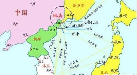 中国东北出海口_诺大的东北为何没有一个出海口,一张图说明了一切