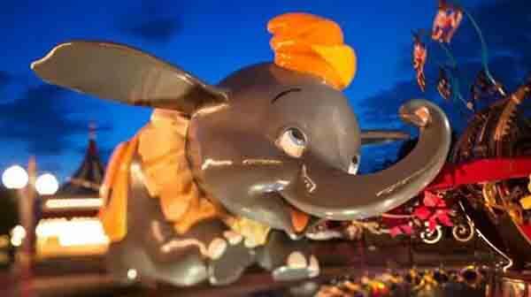 图说:小飞象。 来历:上海迪士尼休假区
